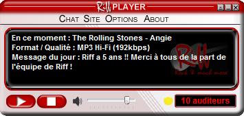 Client multimédia pour la webradio Riff